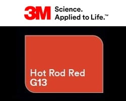 Folia 3M 2080-G13 Hot Rod Red Gloss 152cm