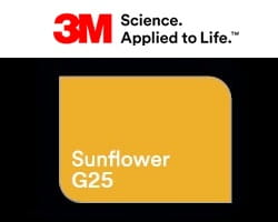 Folia 3M 2080-G25 Sunflower Gloss 152cm